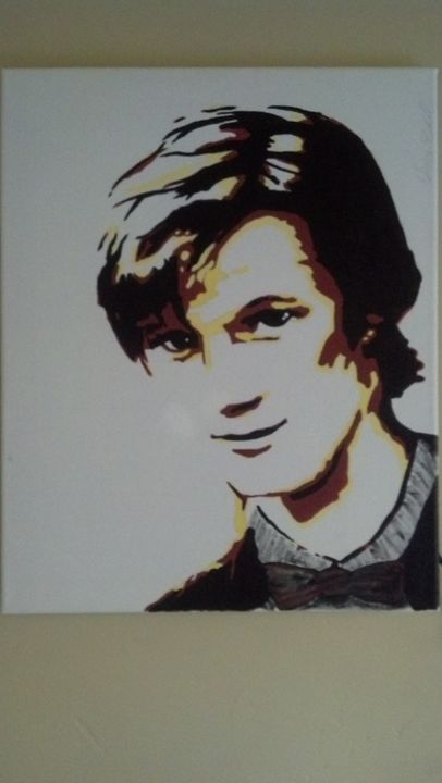 Matt Smith Painting - Fictional Characters Artwork