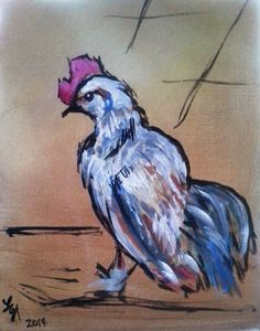 Little White Rooster