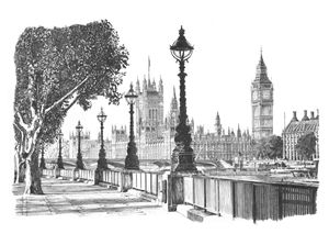 Houses of Parliament, South Bank