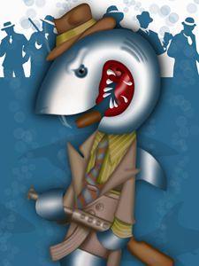 Gangster Shark