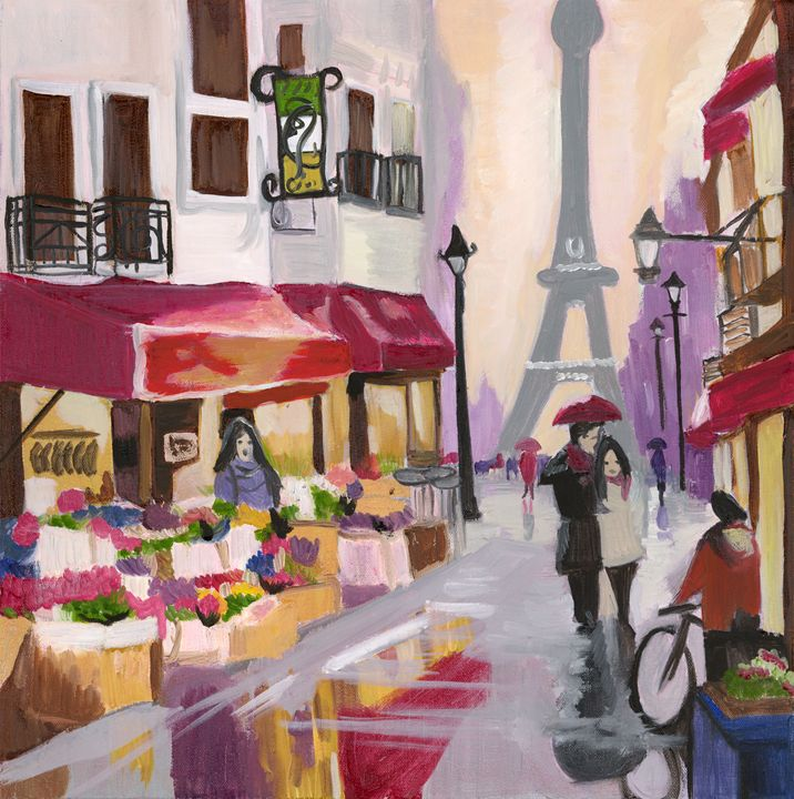 An Evening in Paris - Originals by Malee K