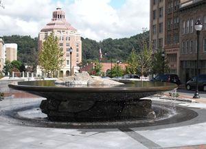 Asheville Fountain