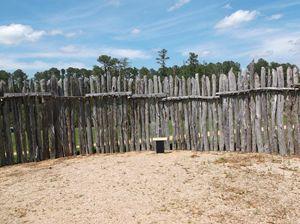 Jamestown Fort Palisade