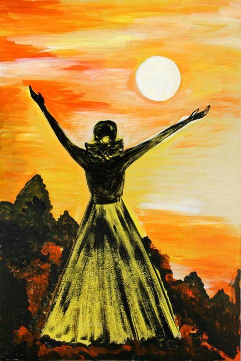 Rise beyond Dreams!! - Paintings by Dr. Anita Varshney (AVA-Art Gallery)