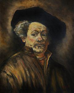 Quick Study of Rembrandt