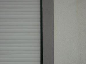 White shutter