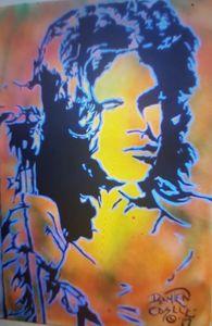 Jim Morrison portrait