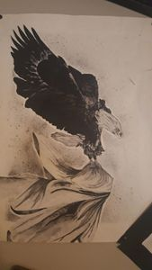 Eagle surrender for the enemy.
