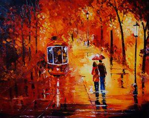 Rhapsody in Red - ART BY VALIA