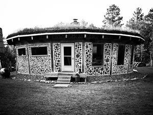 Cordwood Home