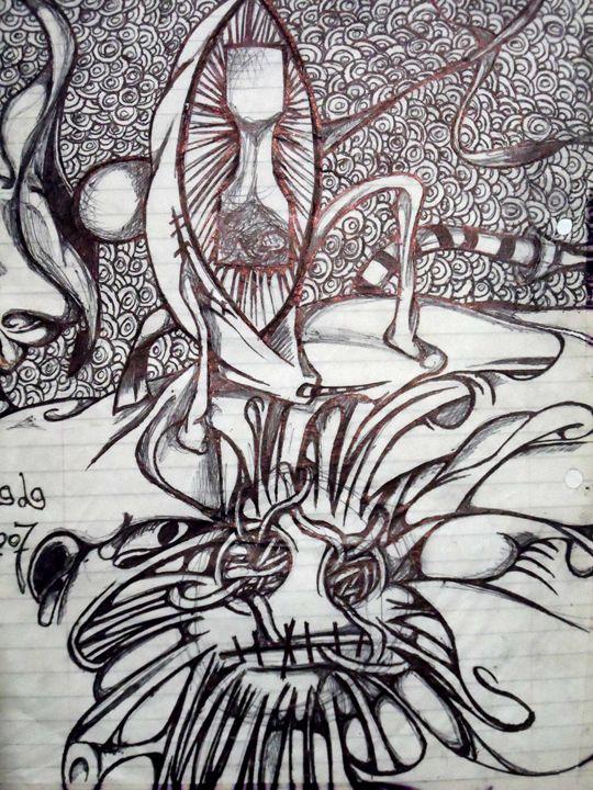 Time face - Mental Minds Art