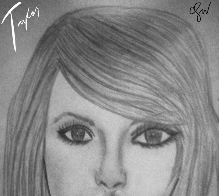 Taylor Swift - Charlee's Drawing