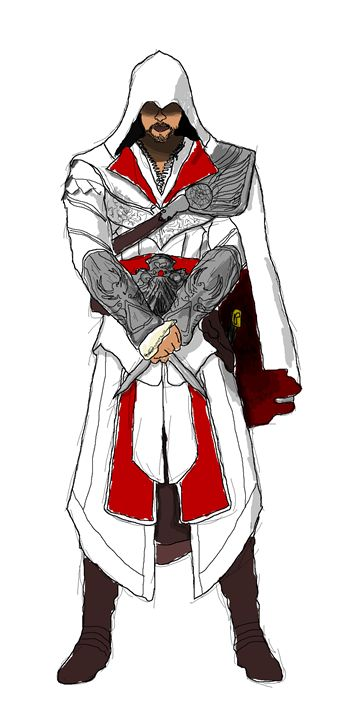 Assassin's Creed Ezio Auditore - MD
