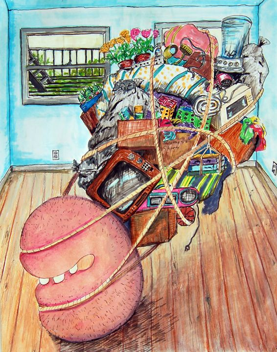 Moving Out Is Hard To Do - Maria Tsaguriya