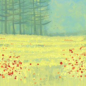 Meadow near Perigeaux - Nic Squirrell