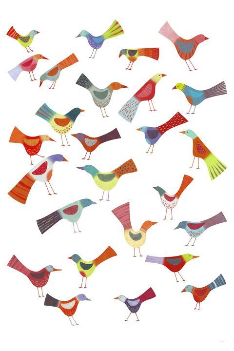 Birds Doing Bird Things - Nic Squirrell