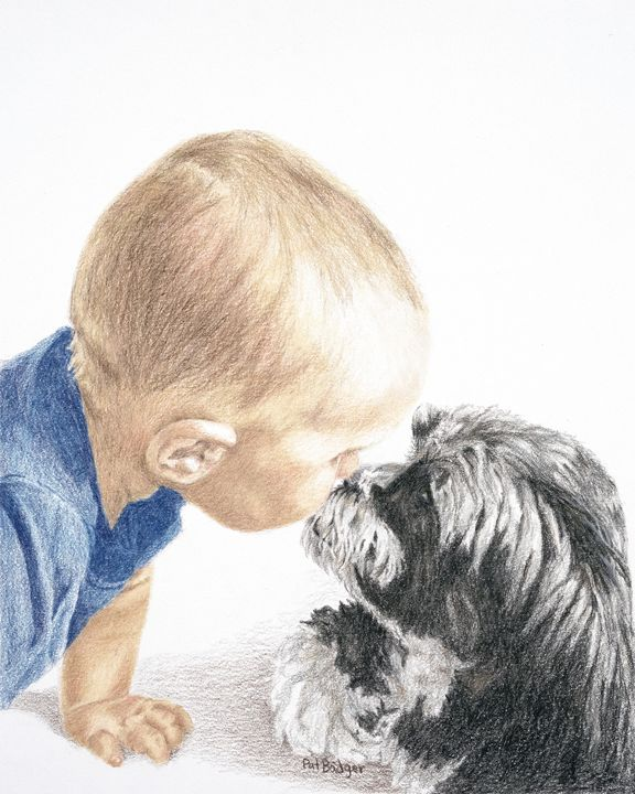 Baby Kiss - Pat Badger