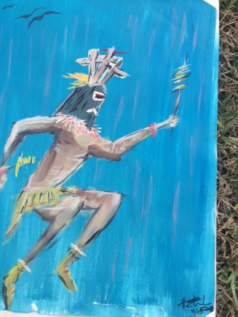 Kachina Dancer - Ocean Bear Studios