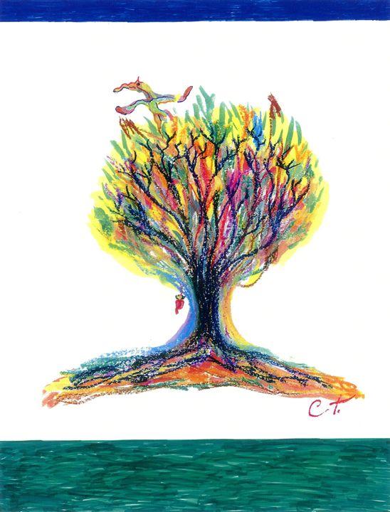Tree Birth - Art by Impulse