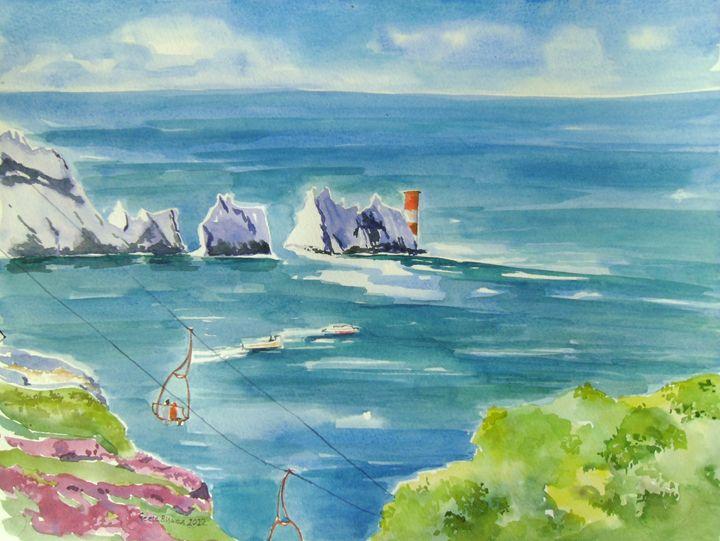 The Needles Isle Of Wight UK - GeetaBiswas