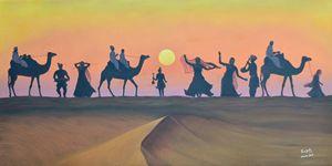 Desert Sunset - Raajesh