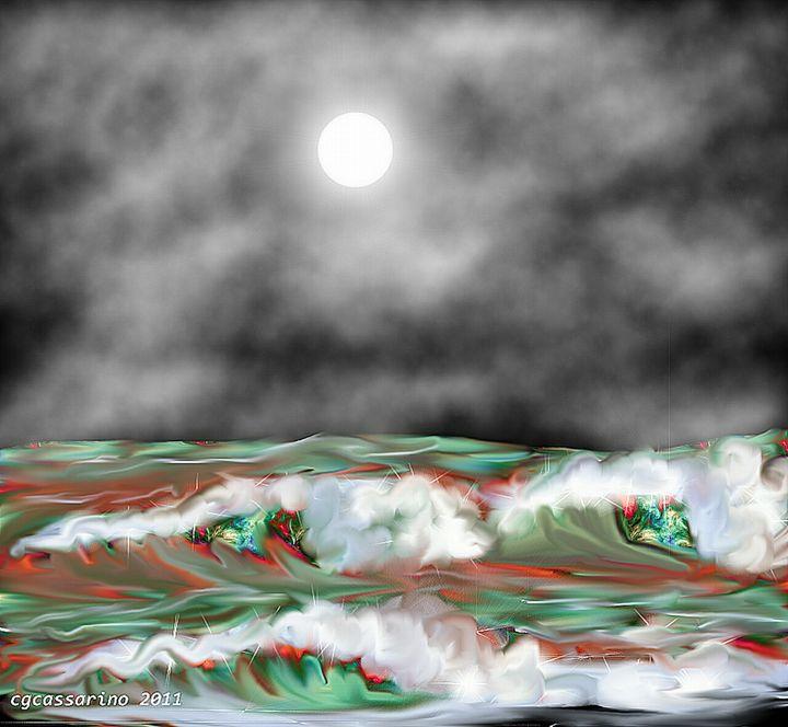 Multi colored sea - Carla giovanna cassarino