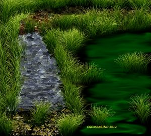 Green pathway to heal