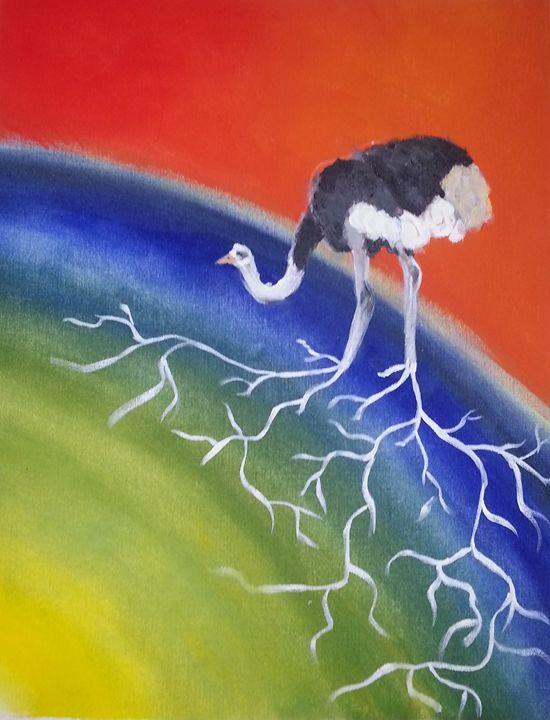 Ostrich of the Earth - Gata Lata