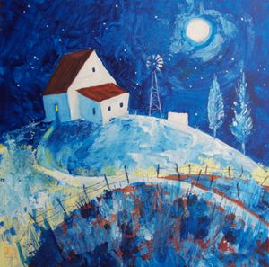 house on the blue hills