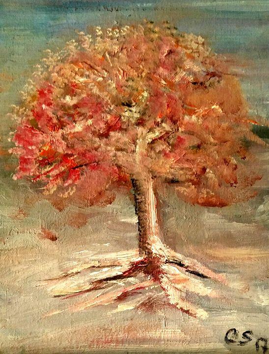 Red Leaves - CS art