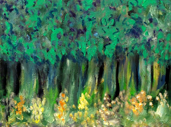 The Forest - CS art