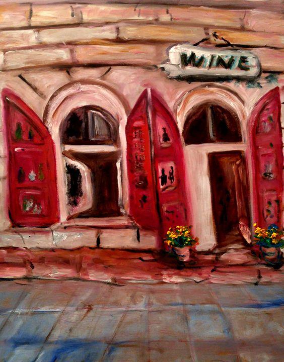 Wine - CS art