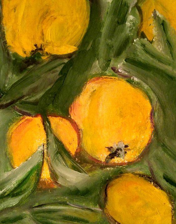 Yellow Fruits - CS art