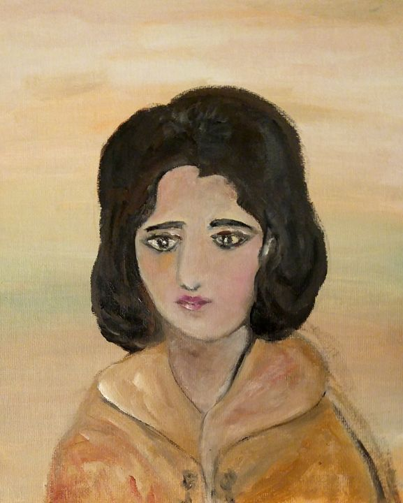 Ioana,my mother in law,young teacher - CS art