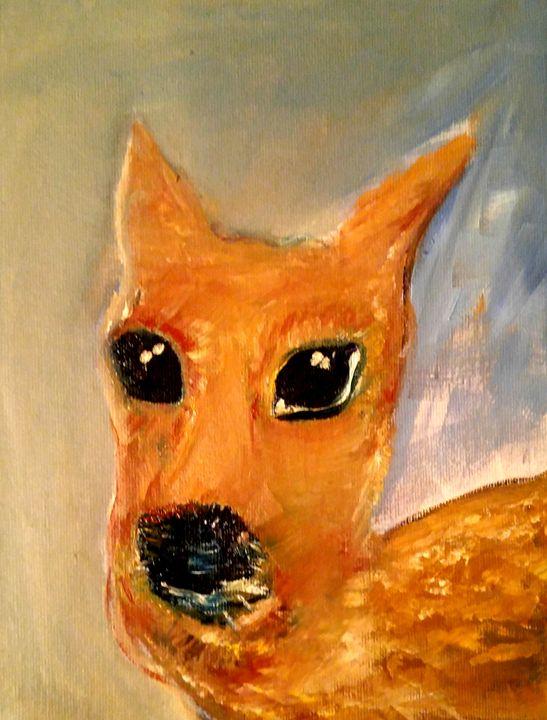 My version of Sacred Young Deer - CS art