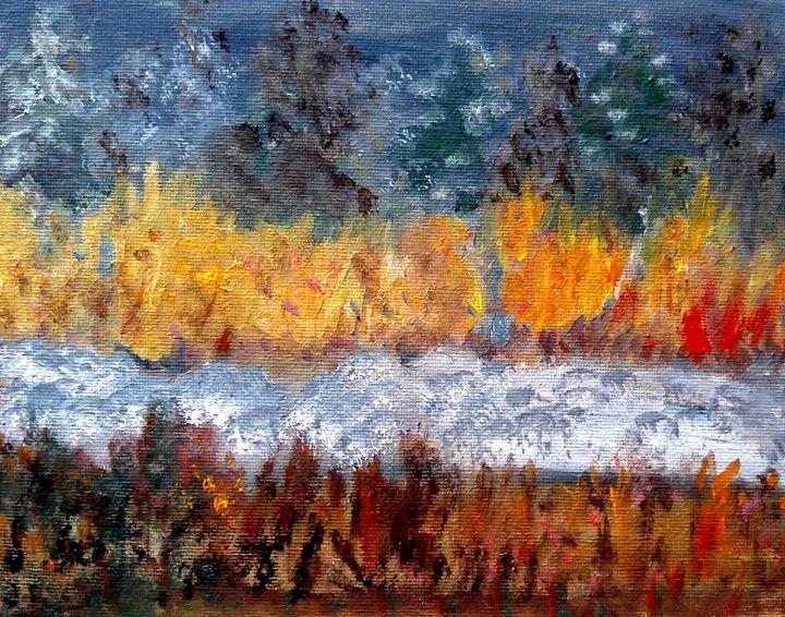 Rivière, 14 jan - CS art