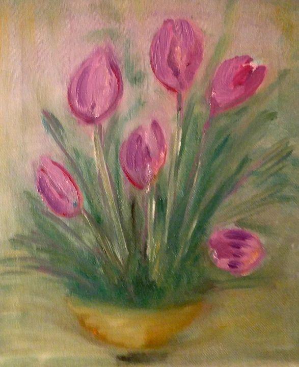 Virginia's Flowers - CS art