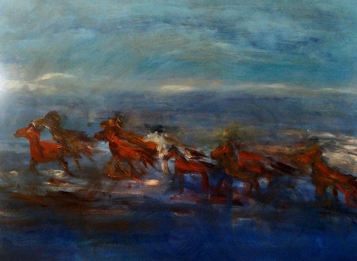 Horse Racing - CS art