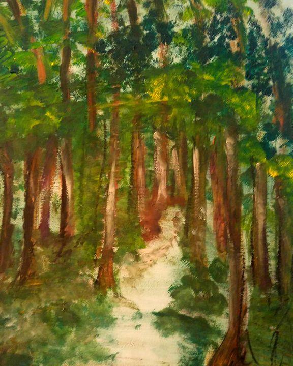 In The Woods - CS art
