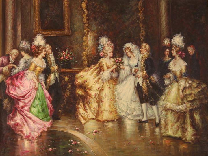 Royal wedding - Tiger's Art Shop