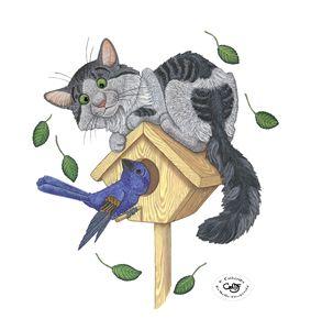 Kitty & Bluebird
