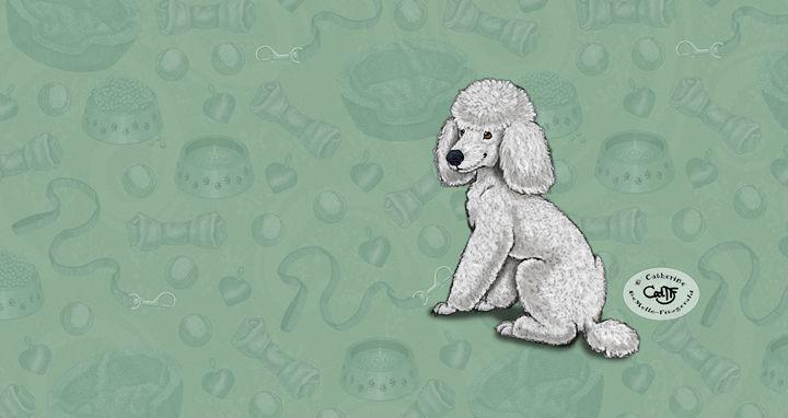Poodledreams - Illustration by Cat