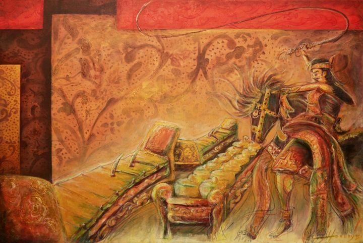 Ebeg, Gamelan dan Nusantara - Hiranata Gallery