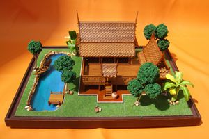 Thai house with pool