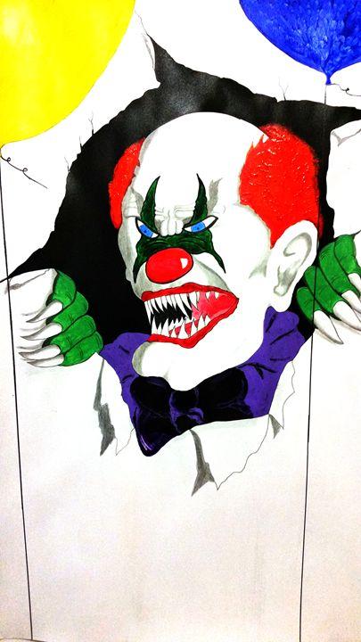 Crazy Clown - Magic Man McGann