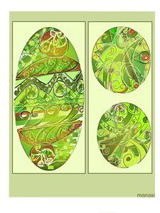 Green glimpses