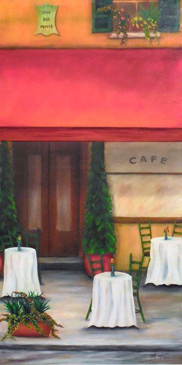 France Cafe - Rose Wenkel
