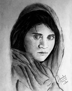 Steve McCurry' Afghan Girl (1985)