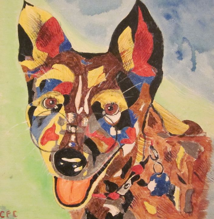 Acid Dog - chris cooper's art