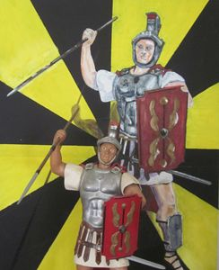 Roman Centurion Poser
